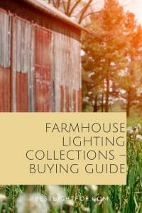 farmhouse lighting collections