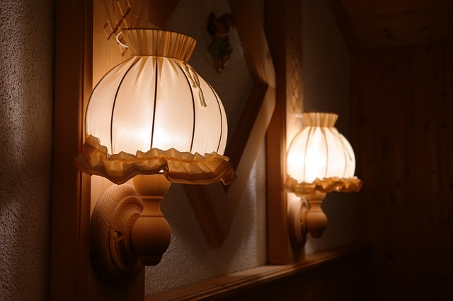 how to install the wall lamp