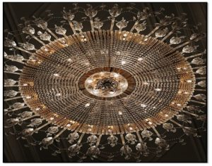 can a chandelier be too heavy for ceiling