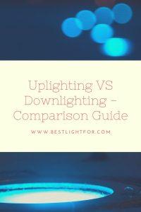 uplighting vs downlighting
