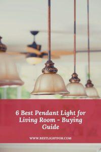 pendant light for living room