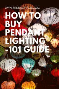 how to buy Pendant Lighting