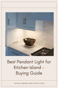 pendant light for kitchen island