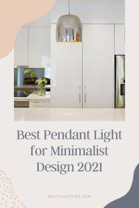Pendant Light for Minimalist