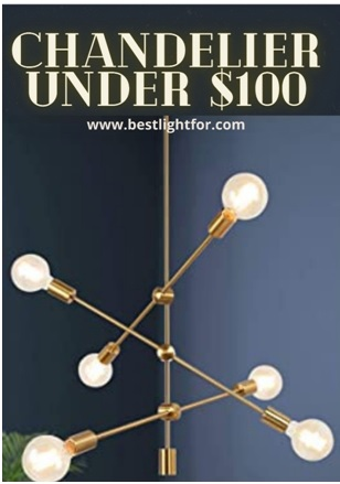 chandelier under $100