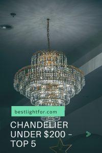 chandelier under $200