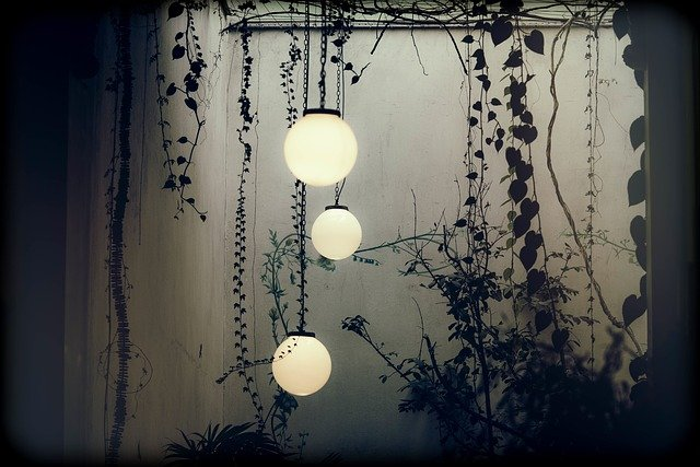 can you use indoor chandelier outside