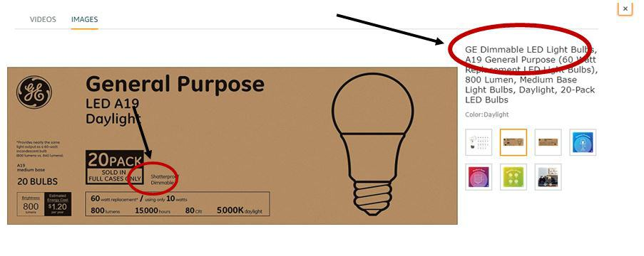 Are LED lights dimmable