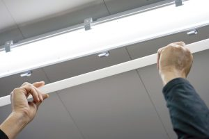 how to hardwire LED strip light