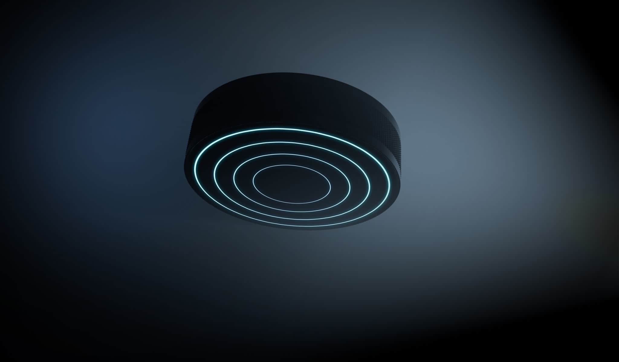 LED Puck Lights With Remote